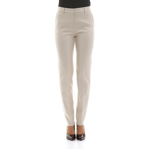 Max Mara Studio Glitter Cotton Blend Trousers-MAX MARA STUDIO-SHOPATVOI.COM - Luxury Fashion Designer
