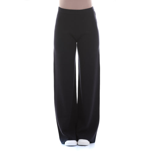 Max Mara Studio Silk And Wool Knit Trousers