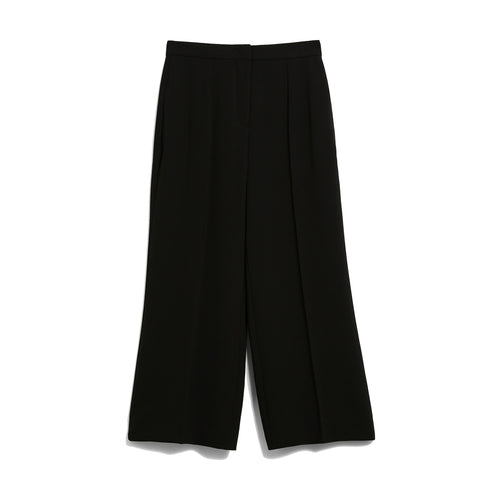 Max Mara Studio Wide-Leg Cady Trousers