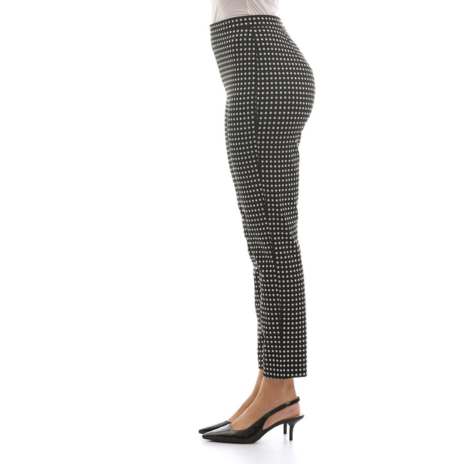 Max Mara Studio Dots Jersey Trousers-MAX MARA STUDIO-SHOPATVOI.COM - Luxury Fashion Designer