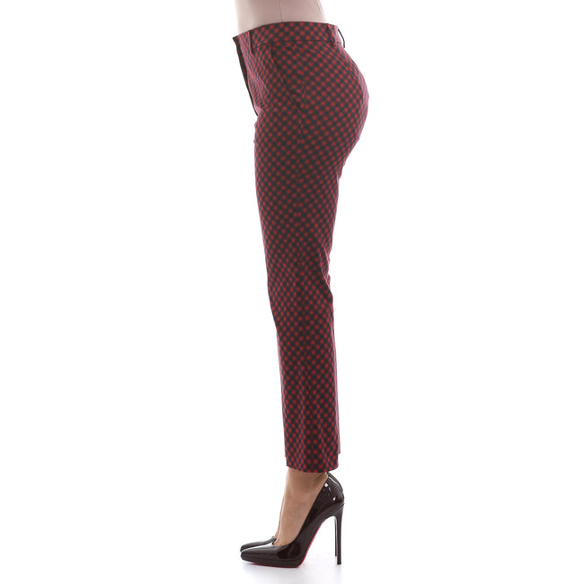 Max Mara Studio Checked Cotton Pants-MAX MARA STUDIO-SHOPATVOI.COM - Luxury Fashion Designer