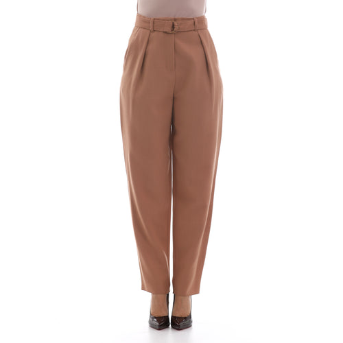 Max Mara Studio High Waist Wool Trousers-MAX MARA STUDIO-SHOPATVOI.COM - Luxury Fashion Designer