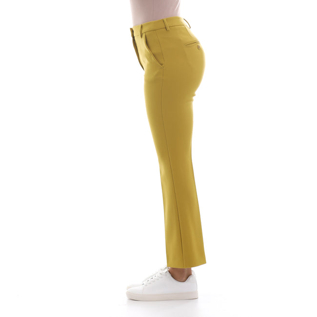 Max Mara Weekend Stretch High Waist Trousers-MAX MARA WEEKEND-SHOPATVOI.COM - Luxury Fashion Designer