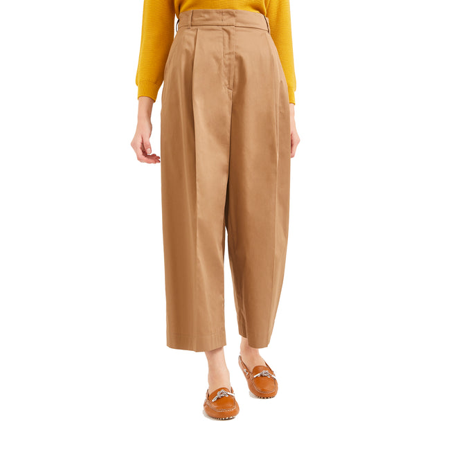 Max Mara Weekend Wide Leg Cotton Pants