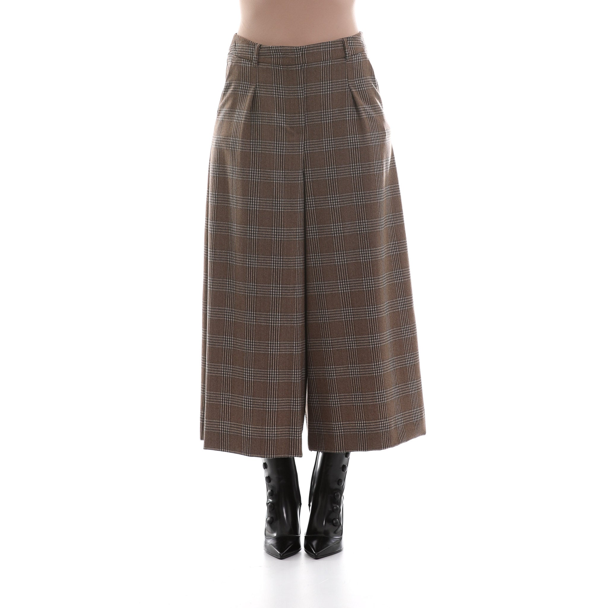 Max Mara Weekend Wool Flannel Trousers-MAX MARA WEEKEND-SHOPATVOI.COM - Luxury Fashion Designer