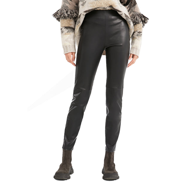 Max Mara Weekend Opache Nappa Leather Leggings