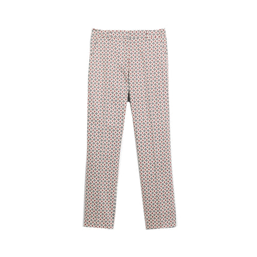 Max Mara Weekend Astrale Cotton Satin Trousers