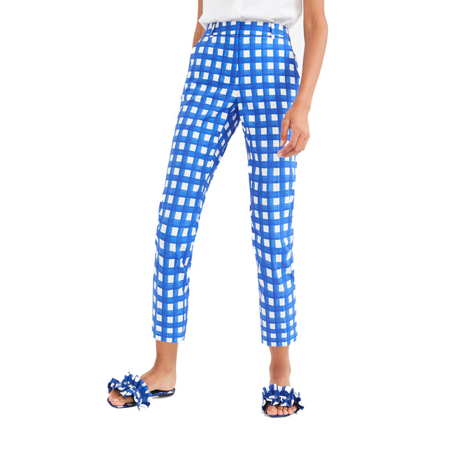 Max Mara Weekend Cotton Faille Trousers
