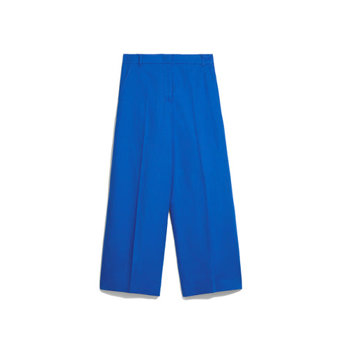 Max Mara Weekend Cropped Cotton Trousers