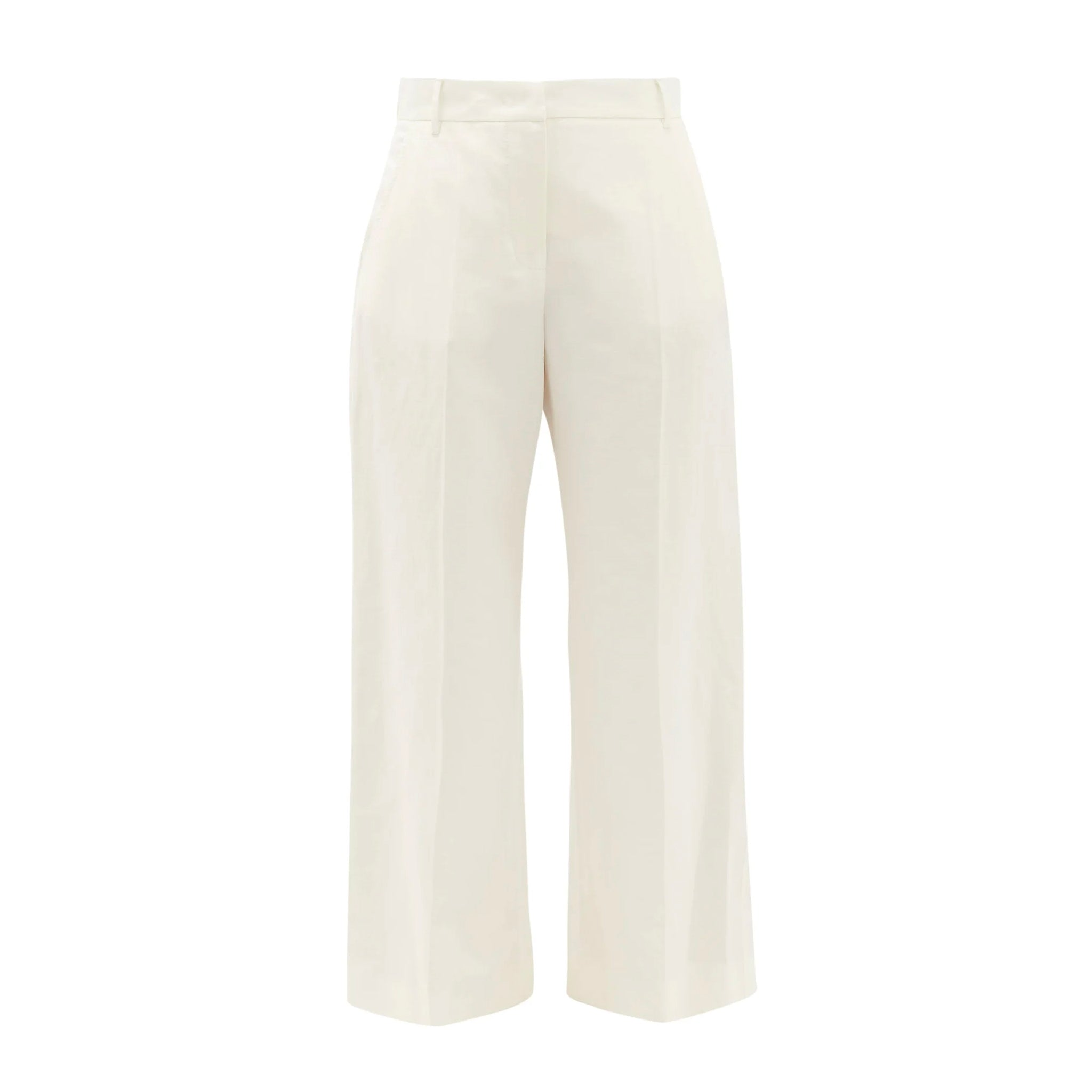 Max Mara Weekend Angio Cropped Twill Pants
