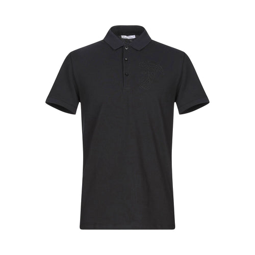 Versace Collection Cotton Logo Polo