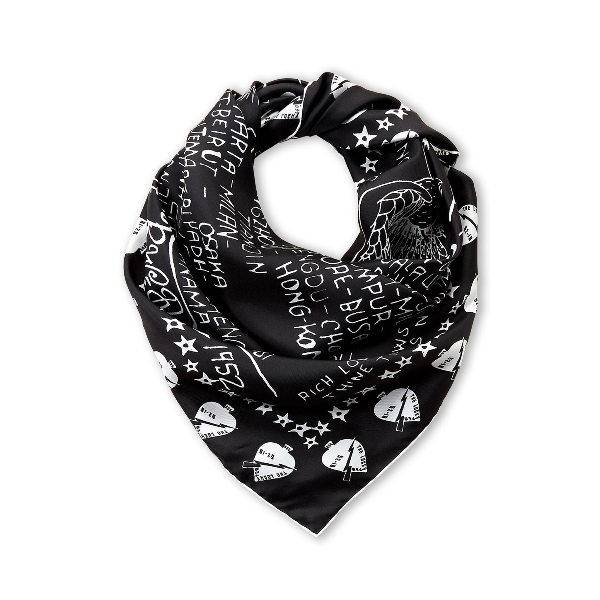 Givenchy World Tour Silk Scarf