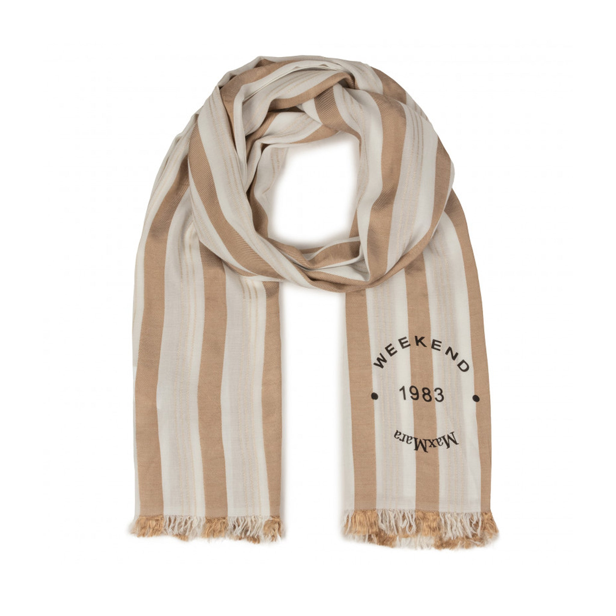 Max Mara Weekend Striped Scarf