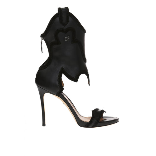 Dsquared2 'Rodeo Girl' Leather Heels