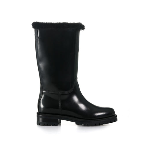 Dolce & Gabbana Patent Leather Boots