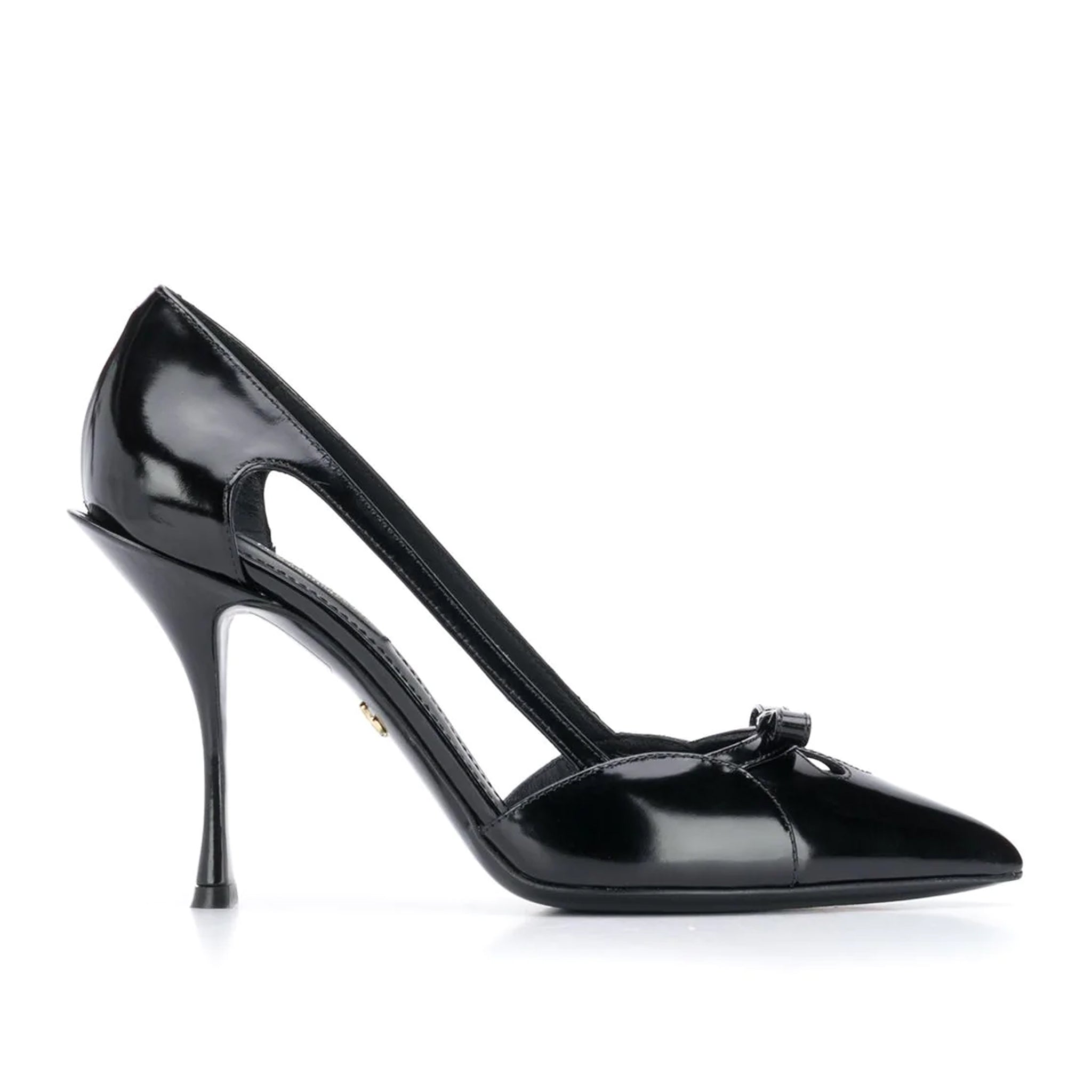 Dolce & Gabbana Patent Leather Bow Pumps