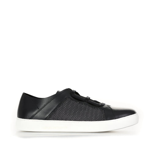 Emporio Armani Leather Sneakers-EMPORIO ARMANI-SHOPATVOI.COM - Luxury Fashion Designer