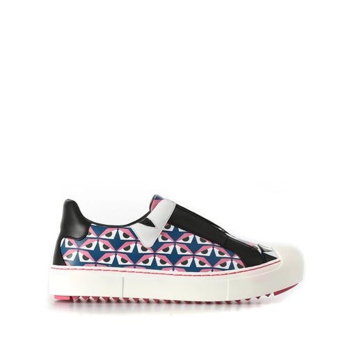 Fendi Printed Slip On Sneakers-FENDI-SHOPATVOI.COM - Luxury Fashion Designer