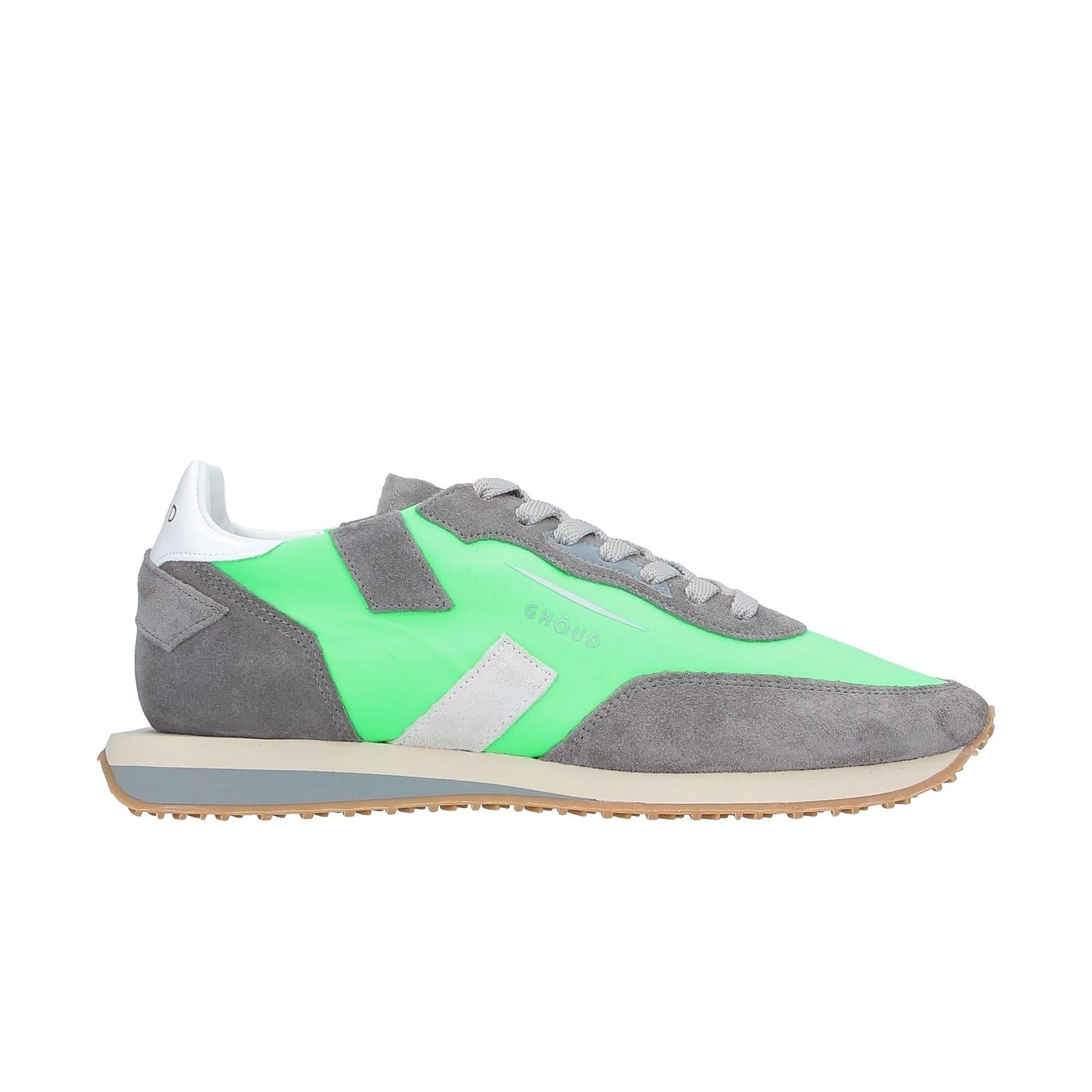 Ghoud Leather And Suede Sneakers