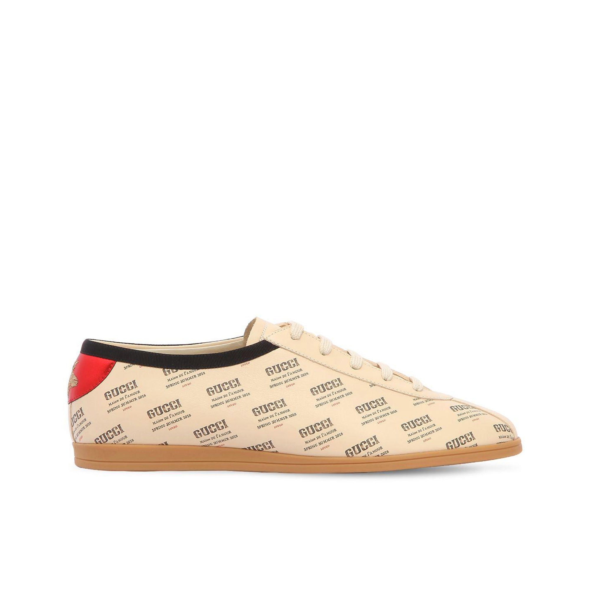 Gucci Falacer Leather Sneakers – ESTRO