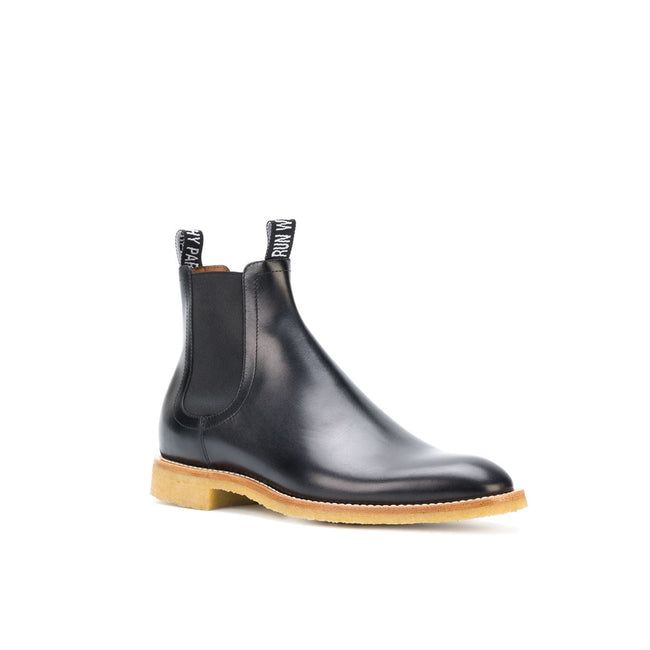 Givenchy High Top Leather Boots-GIVENCHY-SHOPATVOI.COM - Luxury Fashion Designer