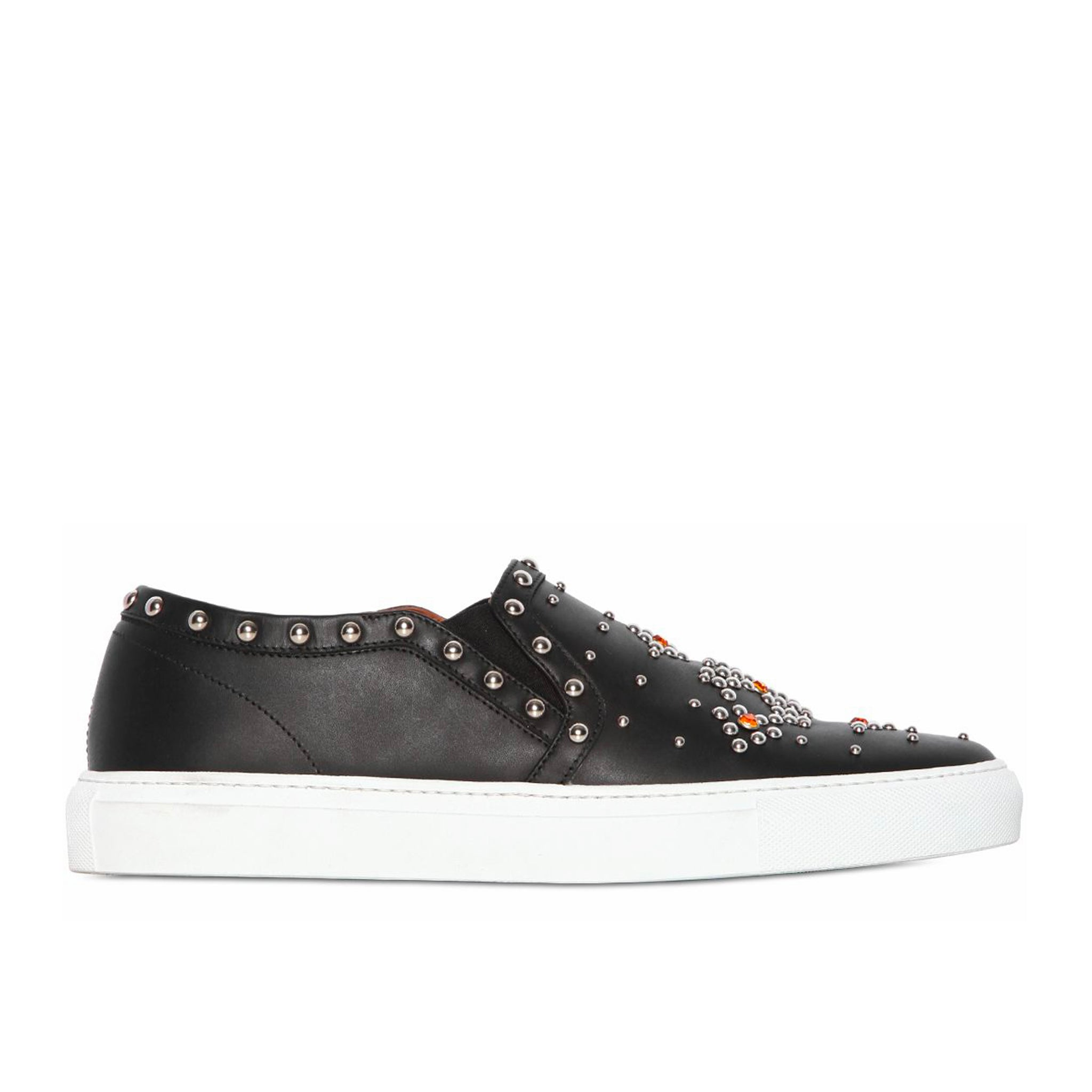 Givenchy Leather Slip On Sneakers