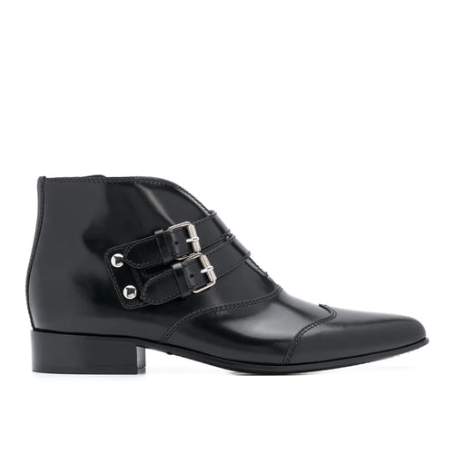 Givenchy Serie Buckle Ankle Boots