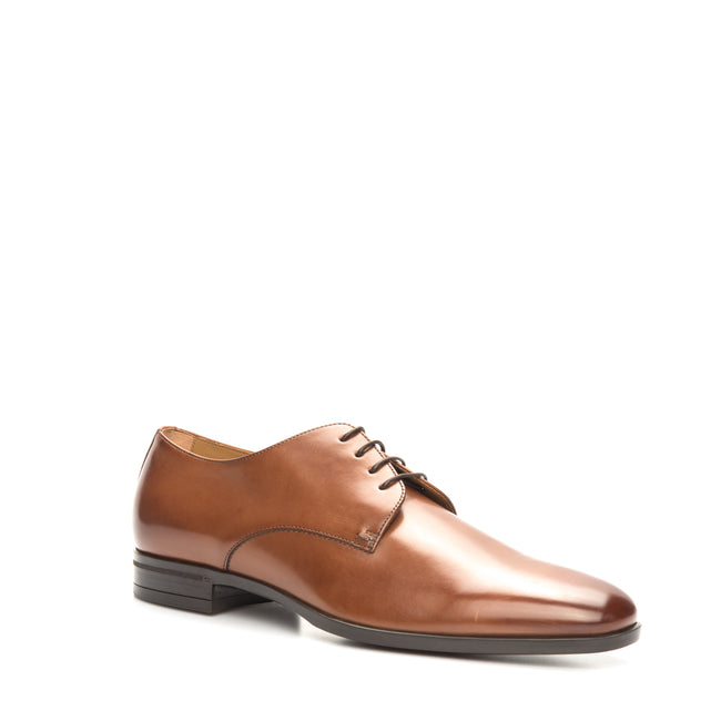 Leather Derby Shoes-HUGO BOSS-SHOPATVOI.COM - Luxury Fashion Designer