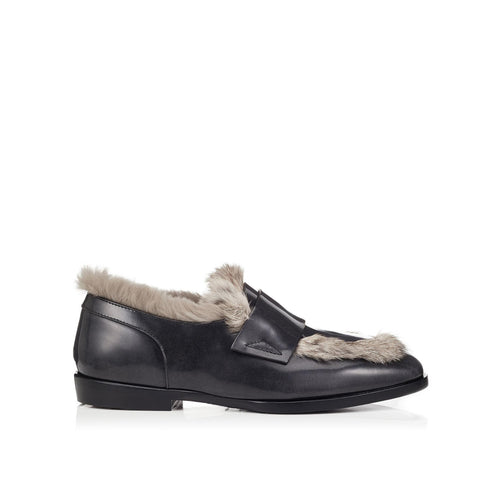 Jimmy Choo Leather Tedi Loafers