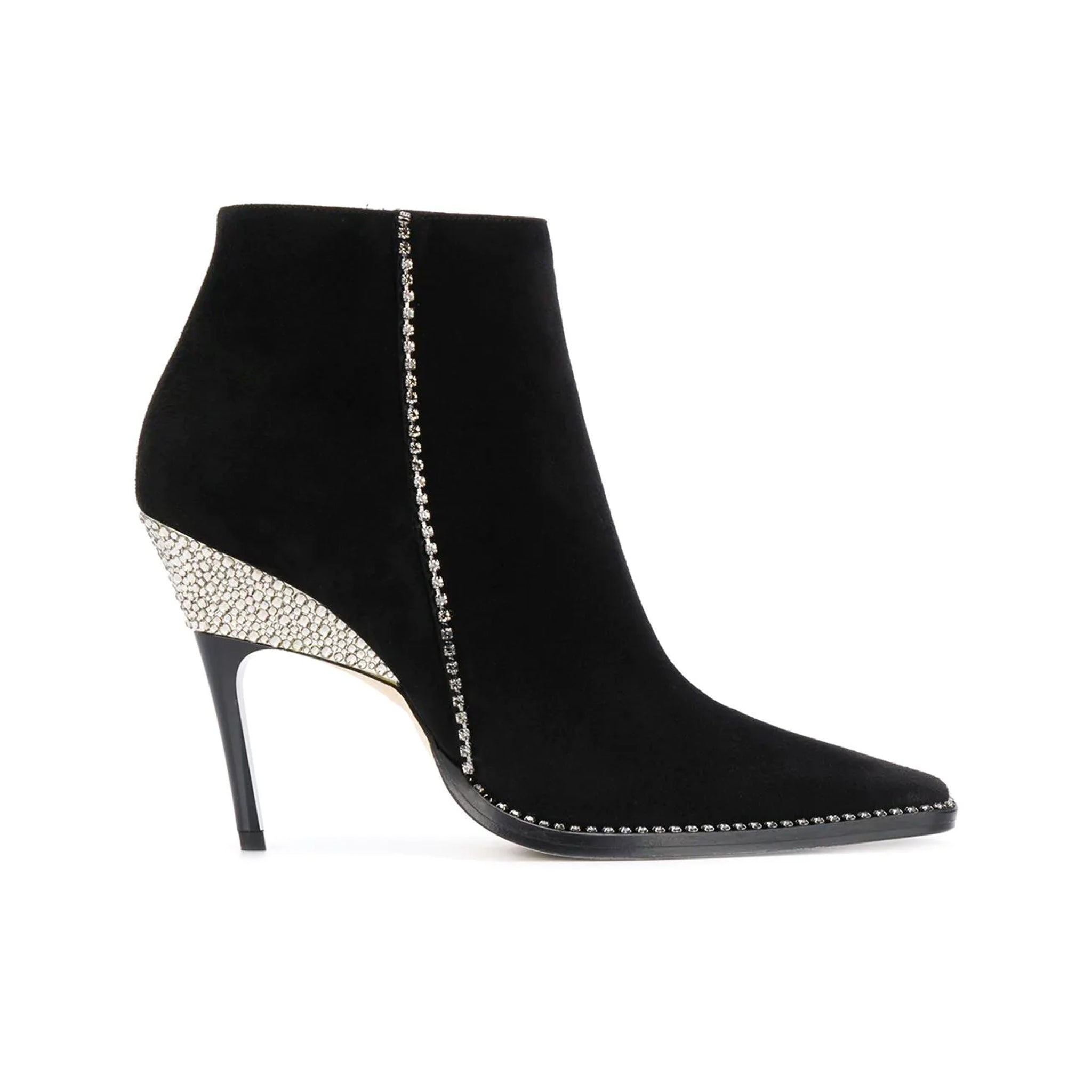Jimmy Choo Brecken 100 Suede Booties
