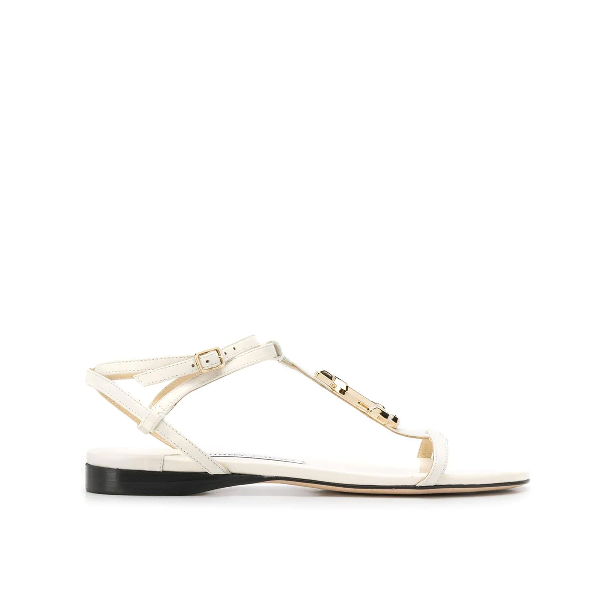 Jimmy Choo Alodie Leather Sandals
