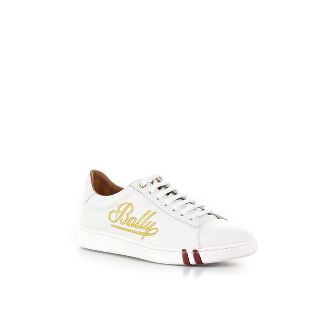 Wiera Leather Sneakers-BALLY-SHOPATVOI.COM - Luxury Fashion Designer