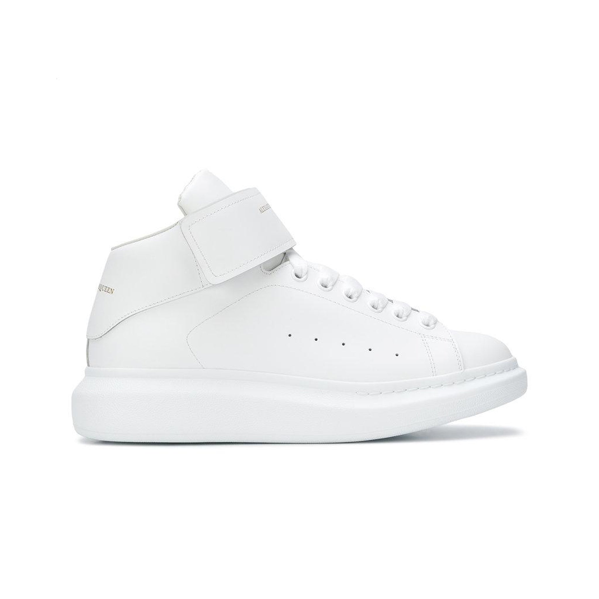 Alexander Mcqueen Mid-Top Leather Sneaker