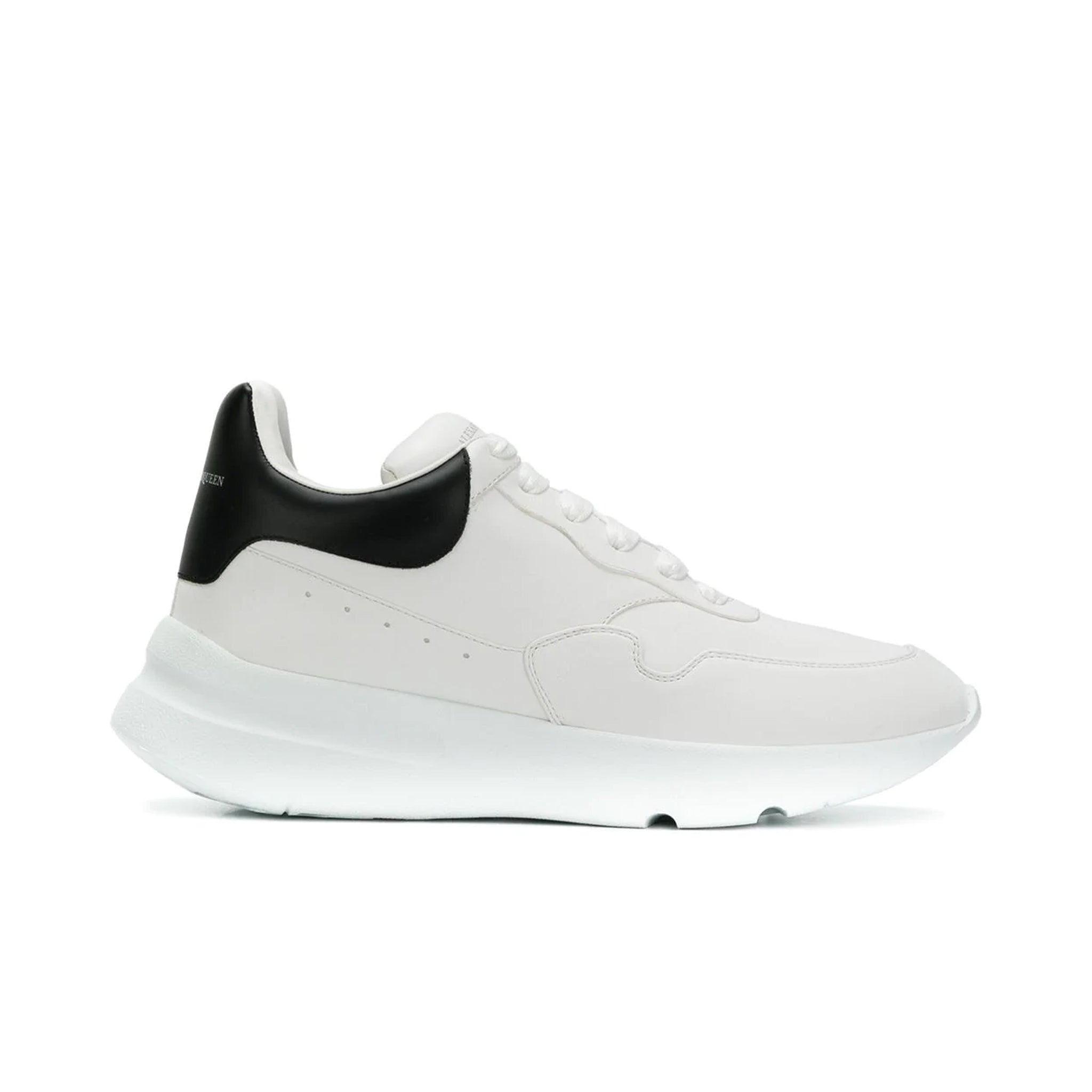Alexander Mcqueen Logo Leather Sneakers