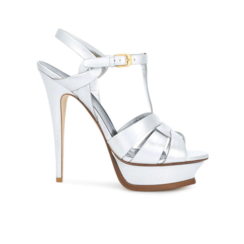 Saint Laurent Tribute 105 Leather Sandals
