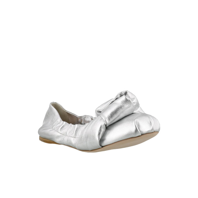 Miu Miu Mordore Leather Ballet Flats