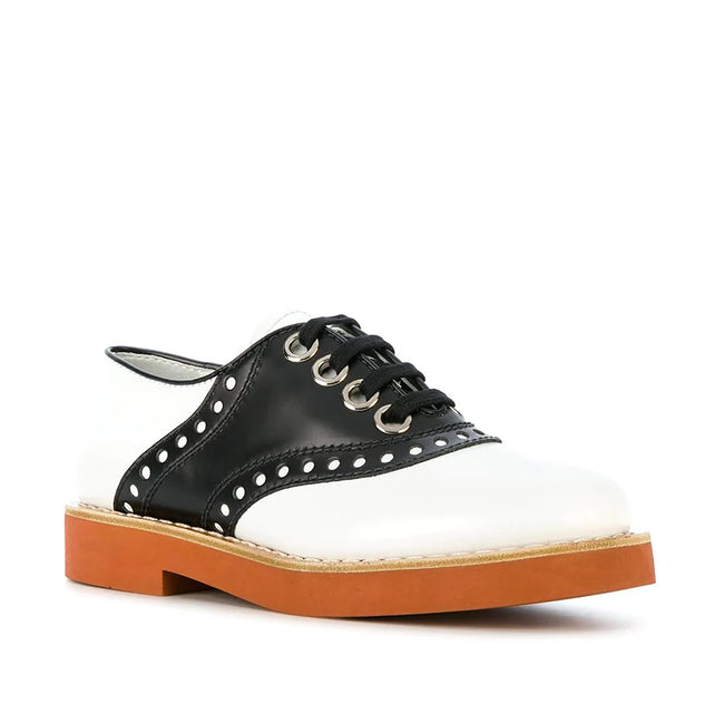Miu Miu Leather Oxford Shoes