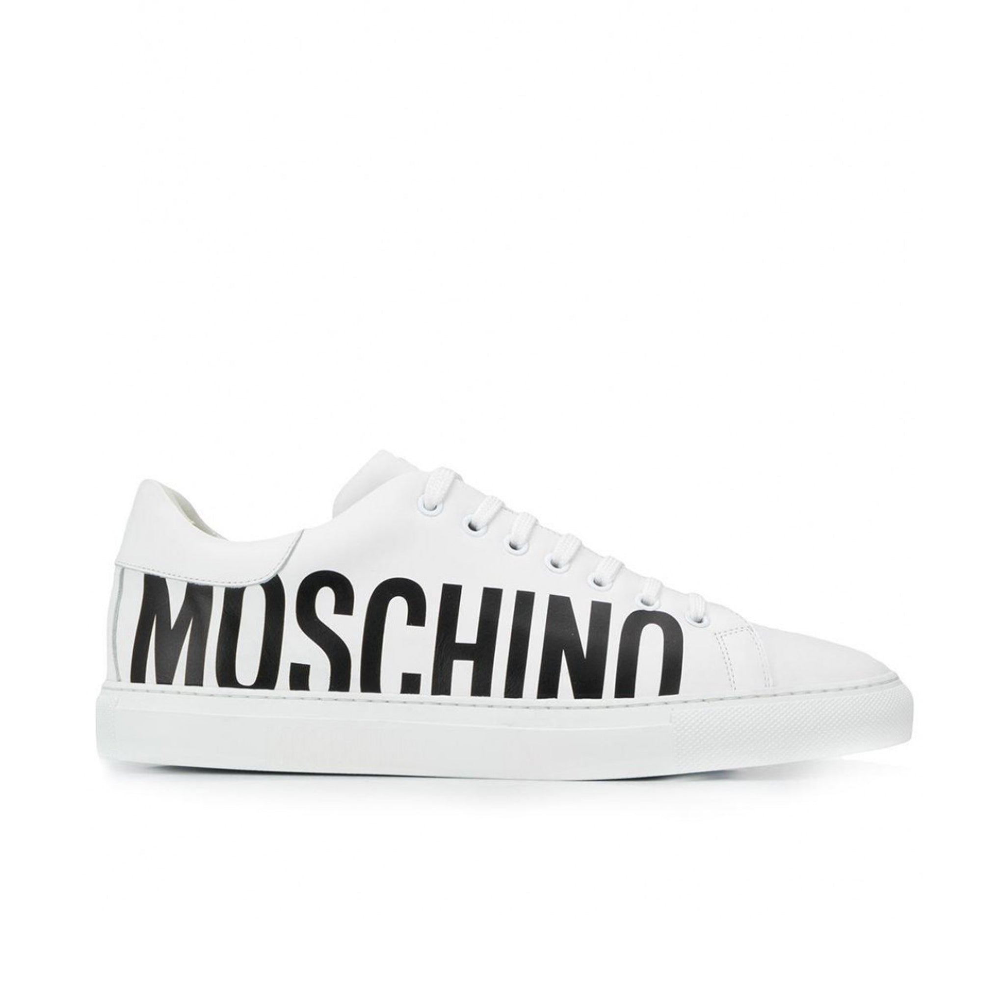 Moschino Couture Leather Sneakers