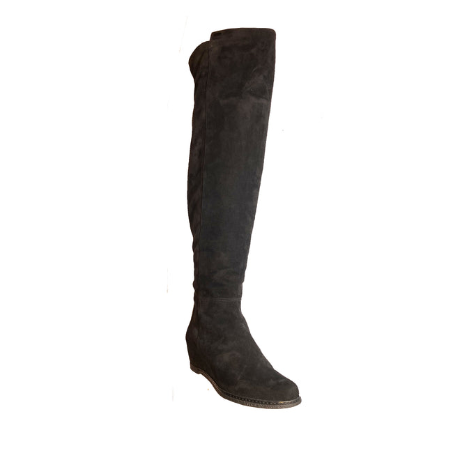 Pakerson Suede Knee Boots