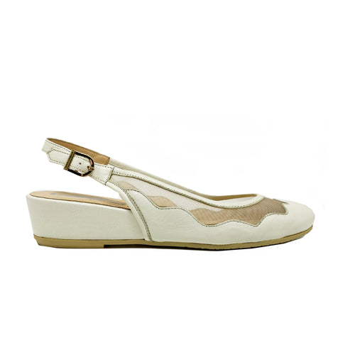 Pakerson Slingback Leather Flats