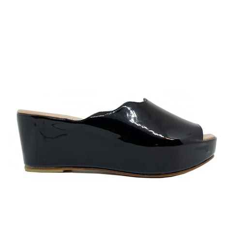Pakerson Patent Leather Mules