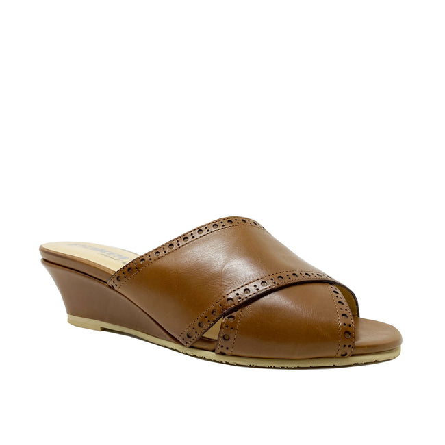 Pakerson Leather Wedge Sandals