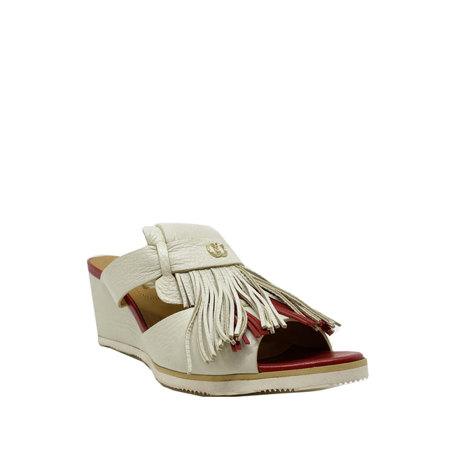 Pakerson Fringed Leather Mules