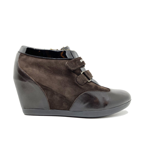Pakerson Suede Wedge Ankle Boot