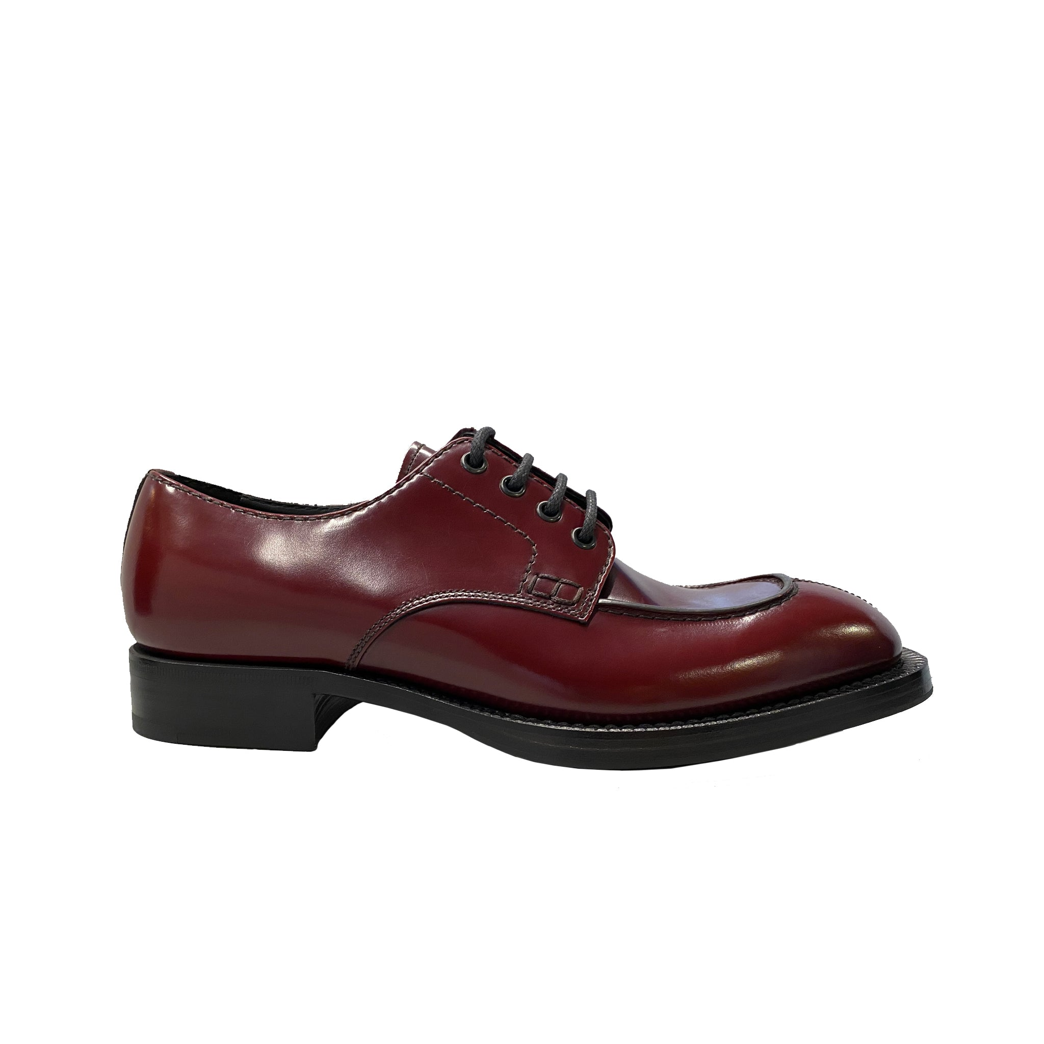 Prada Leather Derby Shoes