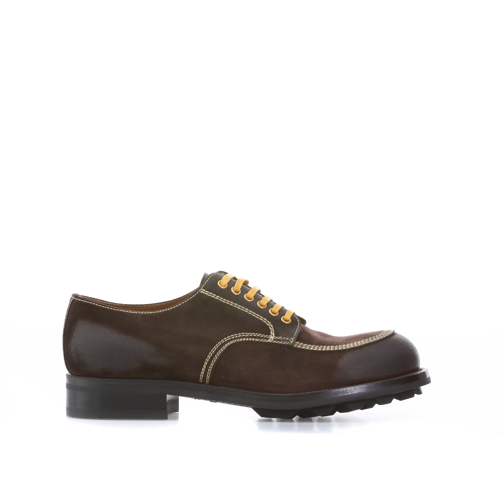 Prada Suede Derby Shoes