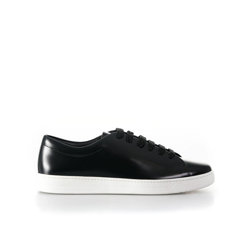 Leather Sneakers-PRADA-SHOPATVOI.COM - Luxury Fashion Designer