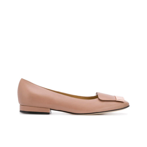Sergio Rossi Sr1 Leather Flats