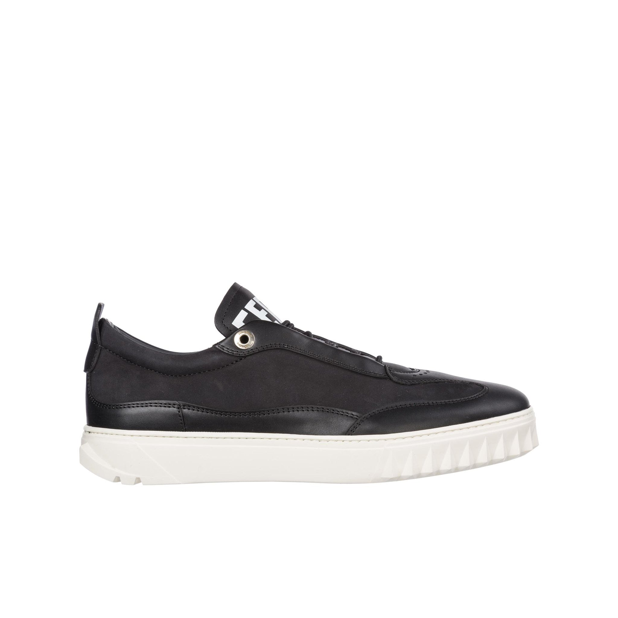 Salvatore Ferragamo Aaron Gancini Leather Sneakers