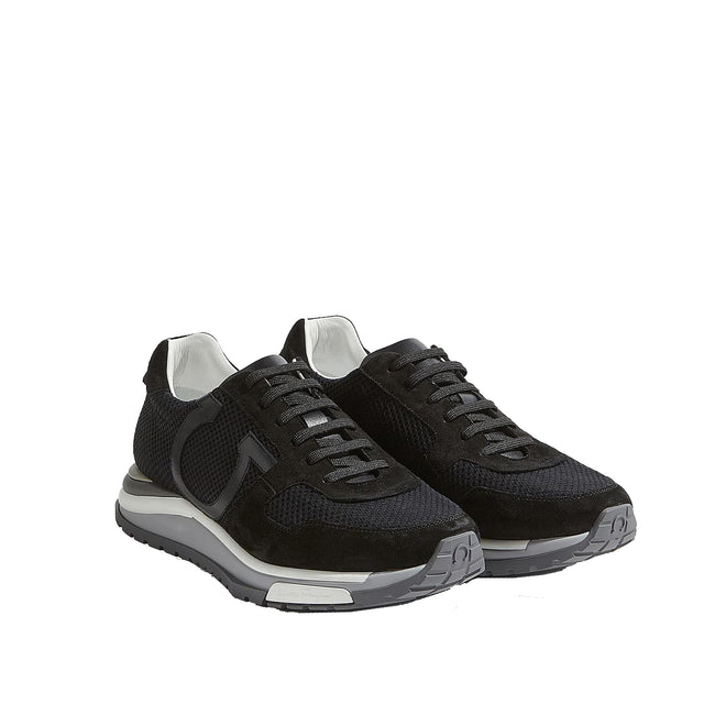Salvatore Ferragamo Brooklyn Logo Sneakers